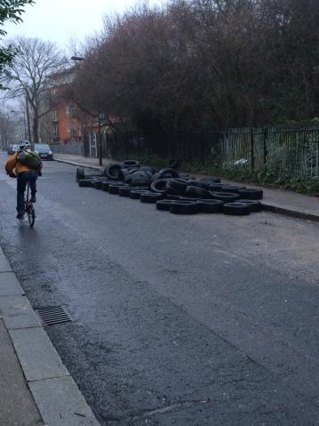 Anyone need any tyres?